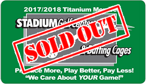 Titanium Membership Sold Out