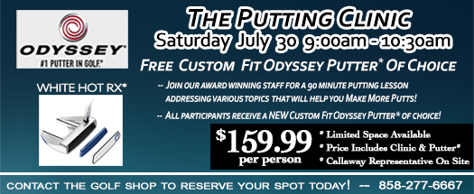 Odyssey Putting Clinic