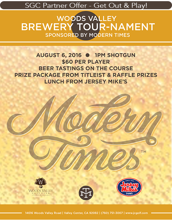 Woods Valley Brewery Tournament Series
