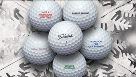 2016 Titleist Golf Ball Personalization