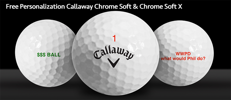 2017 Callaway Chrome Soft Free Personalization