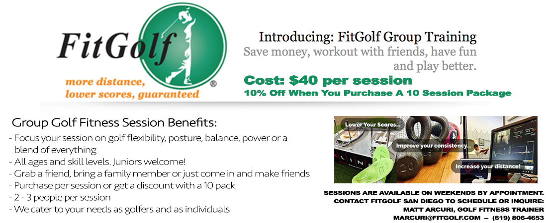 FitGolf Group Sessions