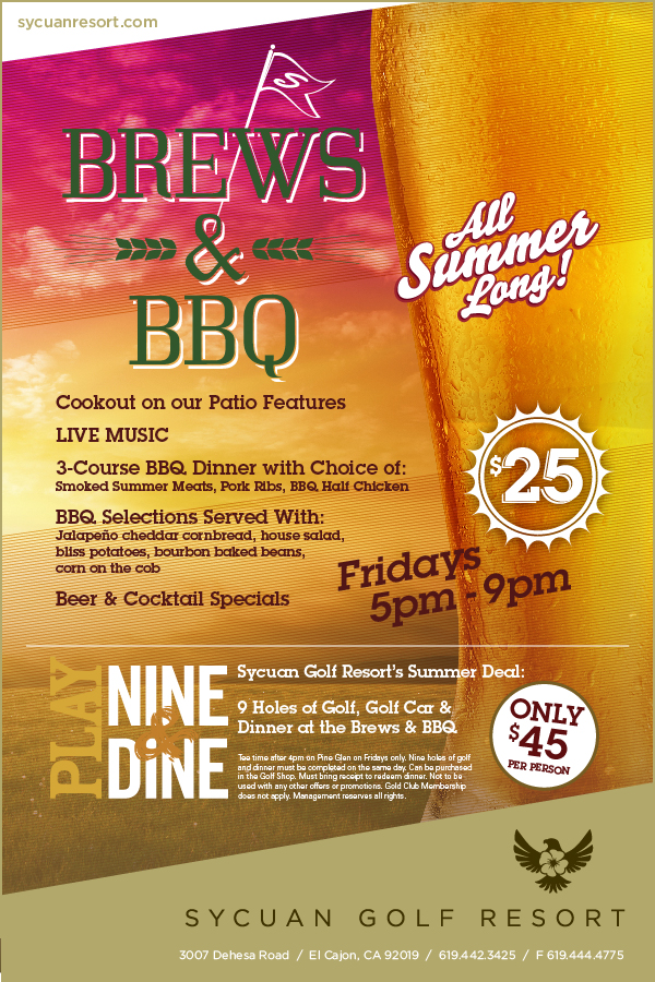 Sycuan Resort Brews & BBQ's