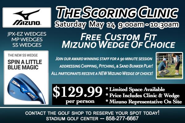 Mizuno Wedge Scoring Clinic