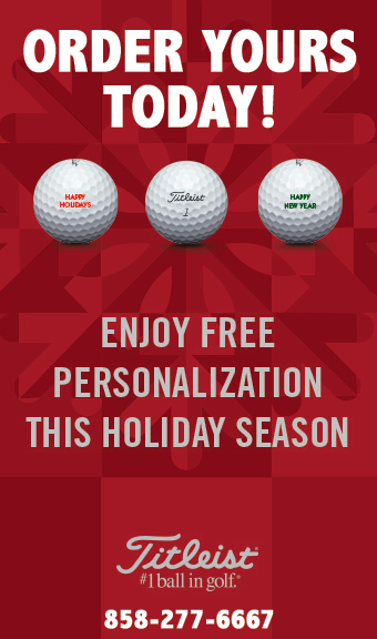 2016 Titleist Golf Ball Personalization