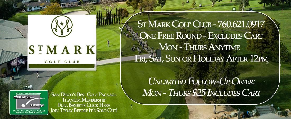St Mark Golf Course - Titanium Partner