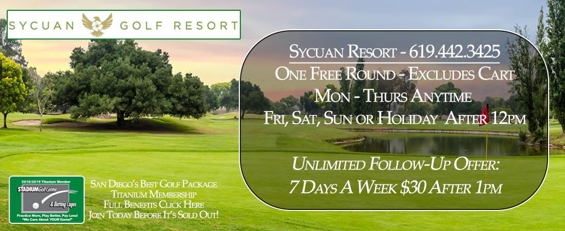 Sycuan Resort - Titanium Membership