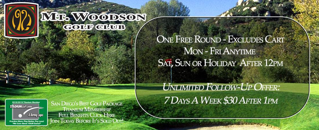 Mt Woodson Golf Club