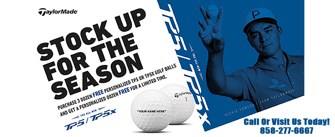 TaylorMade 3-for-1 Golf Balls