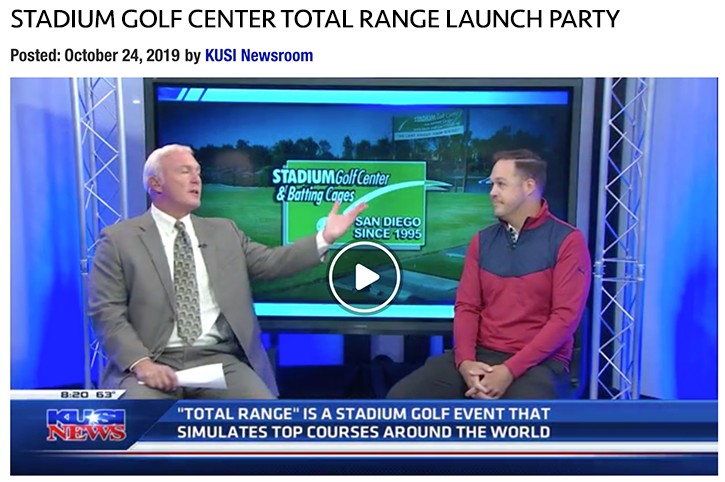 KUSI Total Range Golf